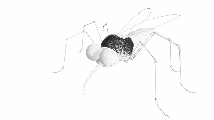 Mosquito ENSC-Render White-Mode1 1600
